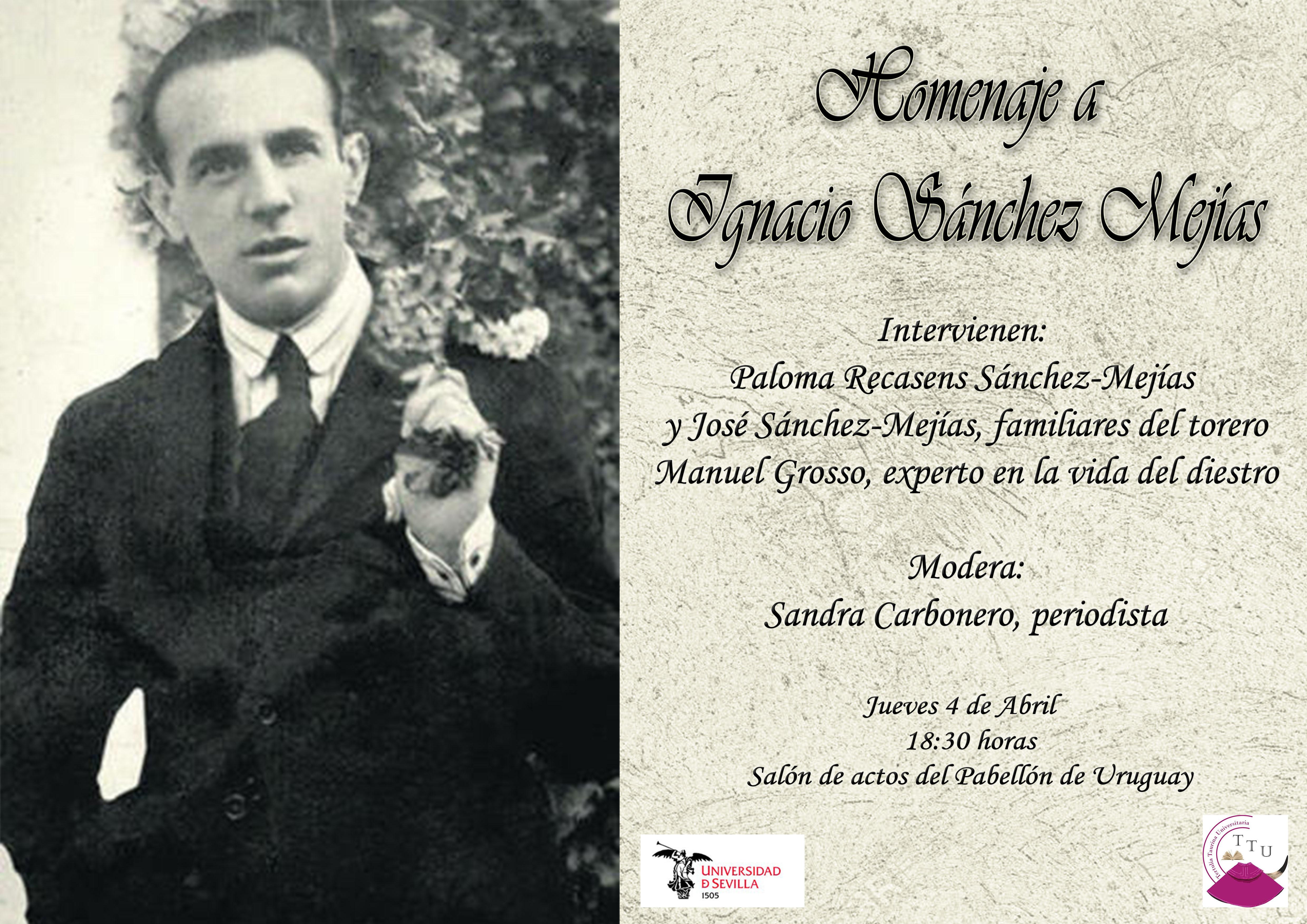 Homenaje a Ignacio Sánchez Mejías